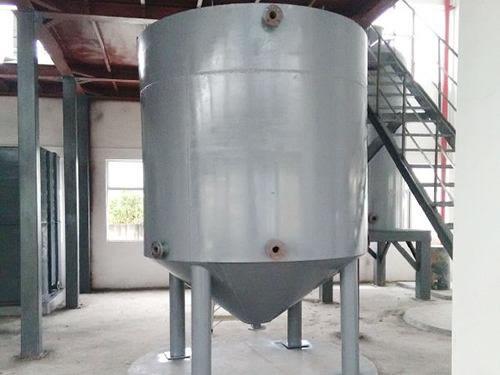 15吨碳钢立方储蓄罐