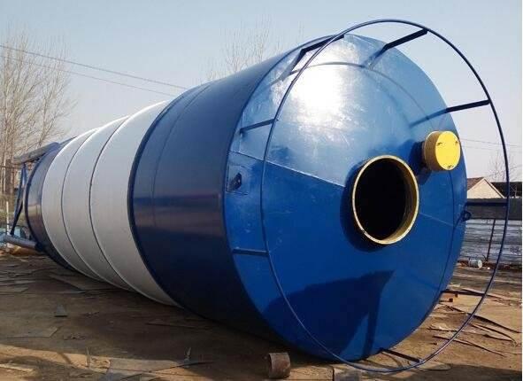 100吨碳钢立式水泥罐